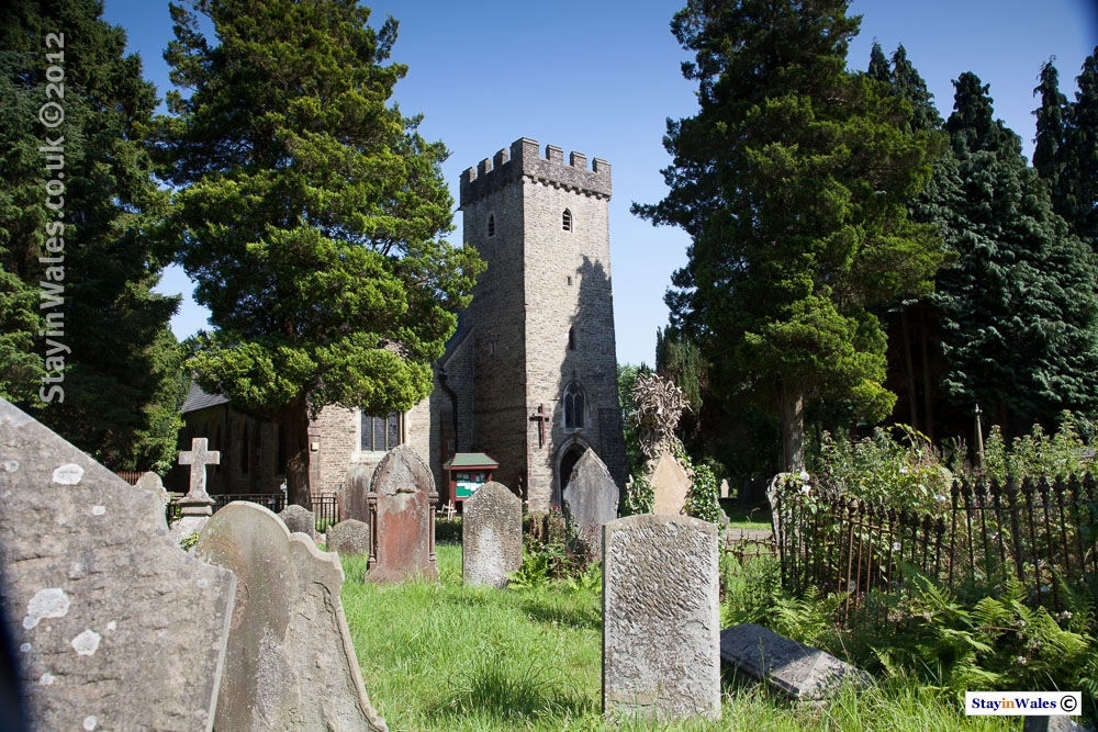 St Catwg's Church at Cadoxton