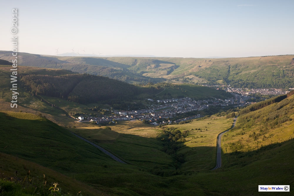 Cwmparc and Treorchy