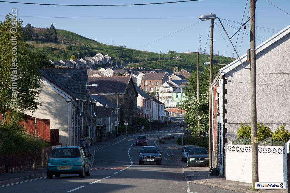 Caerau in the Llynfi Valley