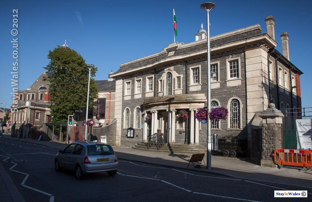 Maesteg Town Council offices