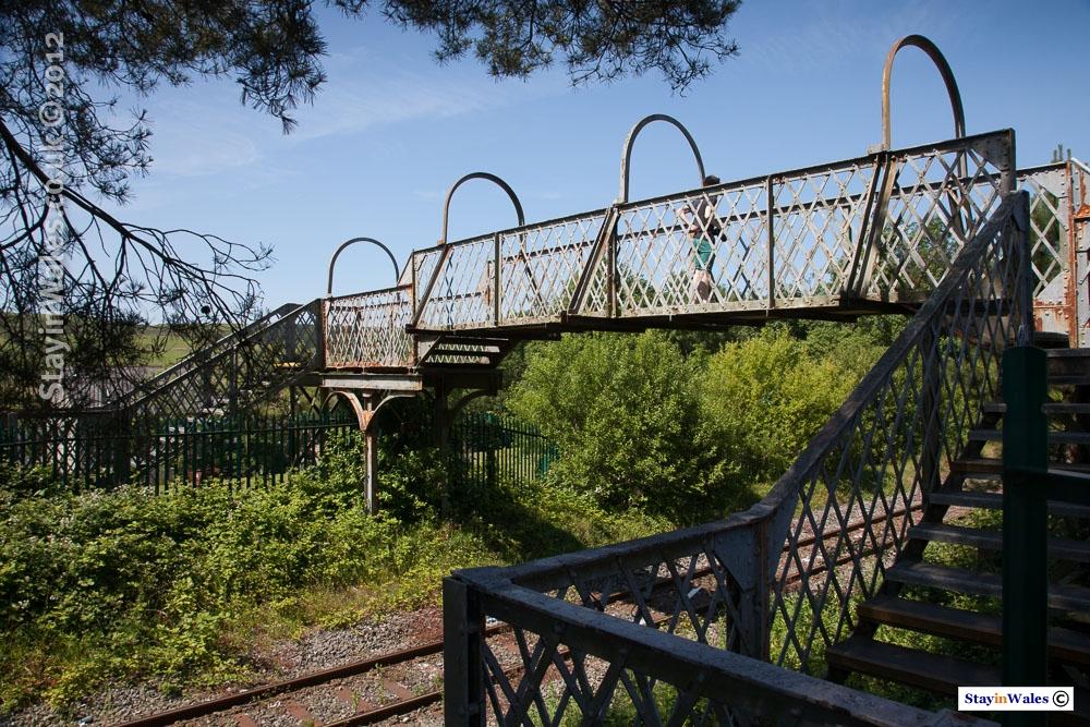 Neath and Breacon railway footbridge