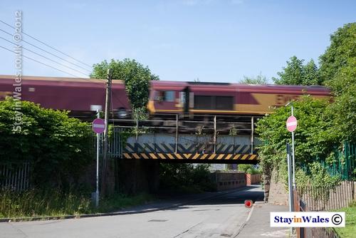 Coal Train at Cadoxton