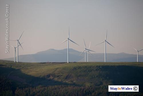 Pen Y Cymoedd wind farm