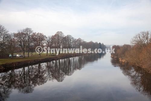River Wye at Builth Dec 2013