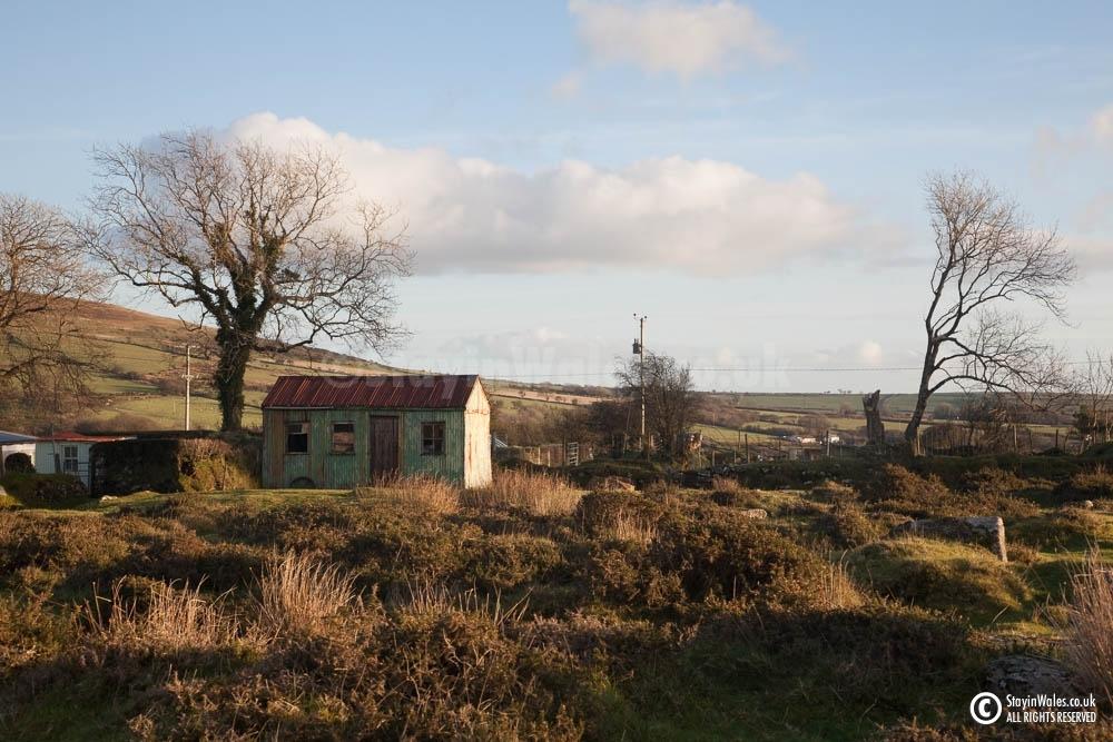 Shepherd's hut at Mynachlog-ddu