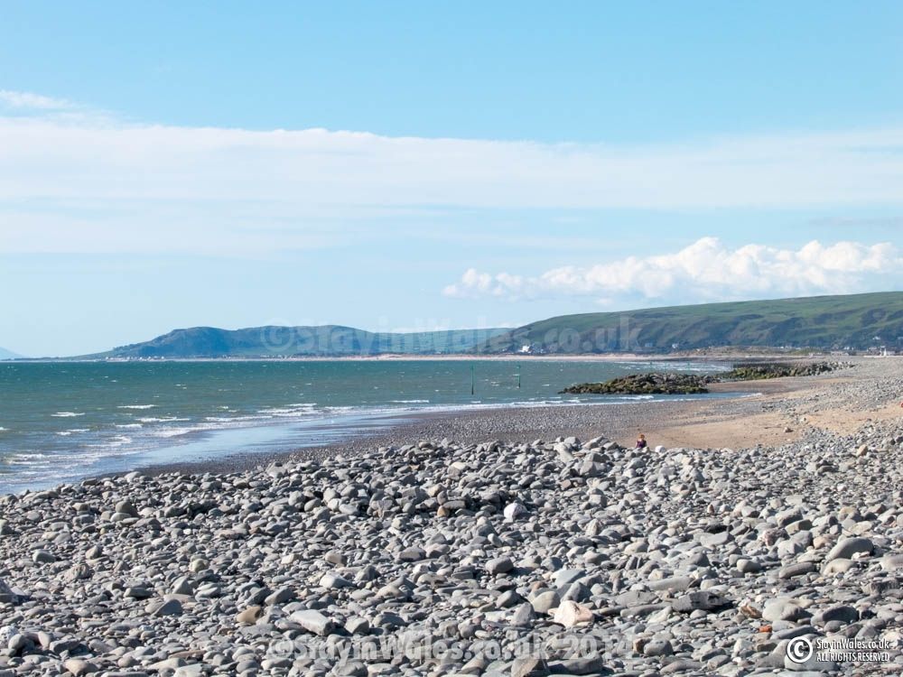 View from Borth beach