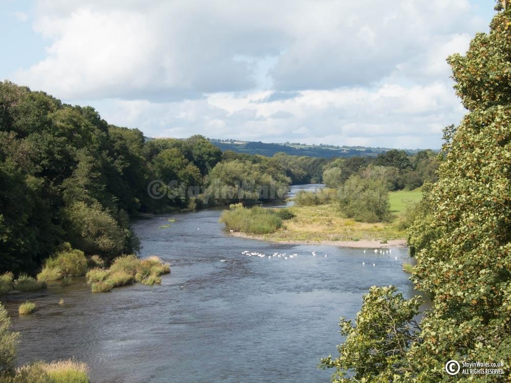 River Wye at Hay-on-wye
