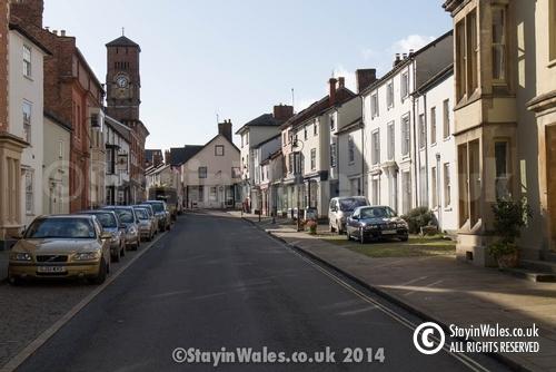 Broad Street in Presteigne