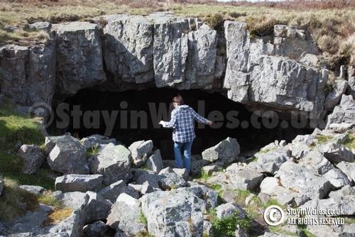 Chartist Cave at Trefil
