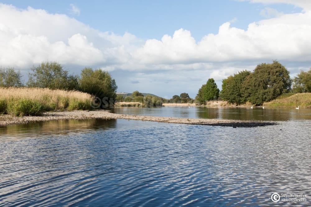 River Wye at Glasbury