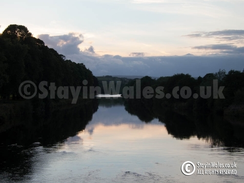 River Wye, Builth