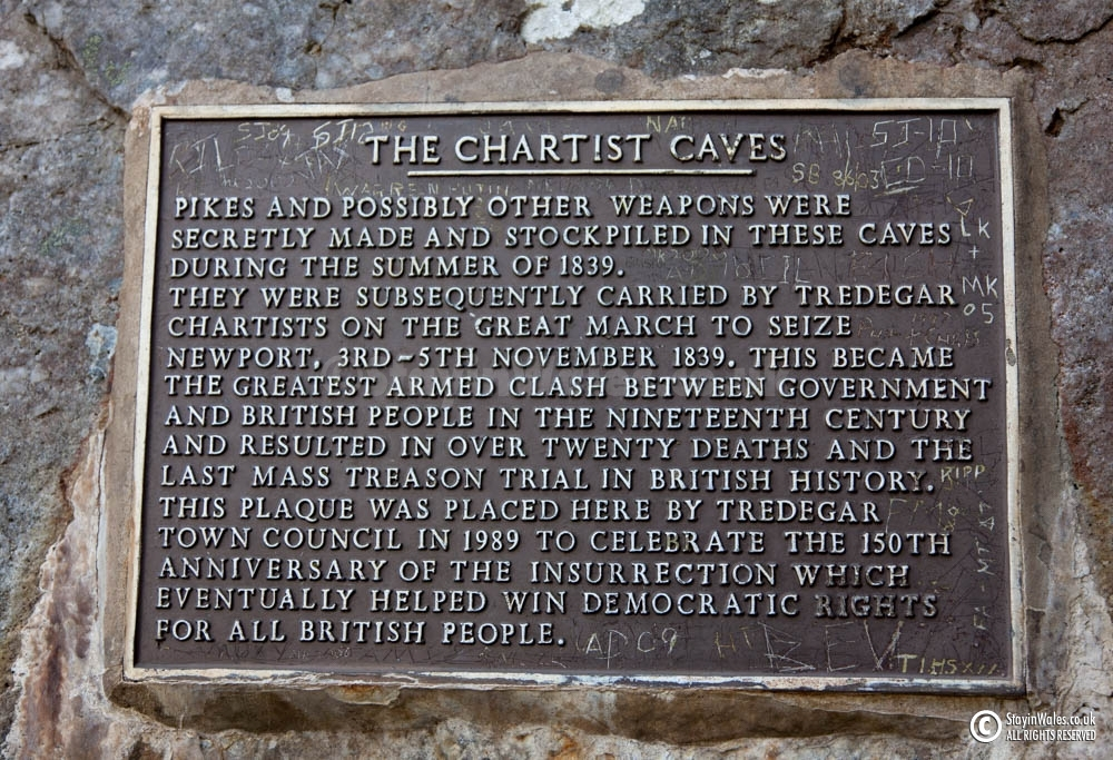 Chartist Cave, Trefil