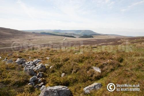 Moorland above Trefil