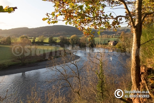 River Wye from Wyecliffe