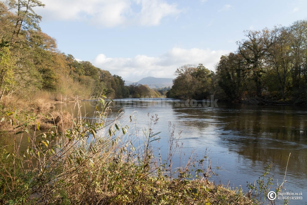 River Wye and Black Mountains