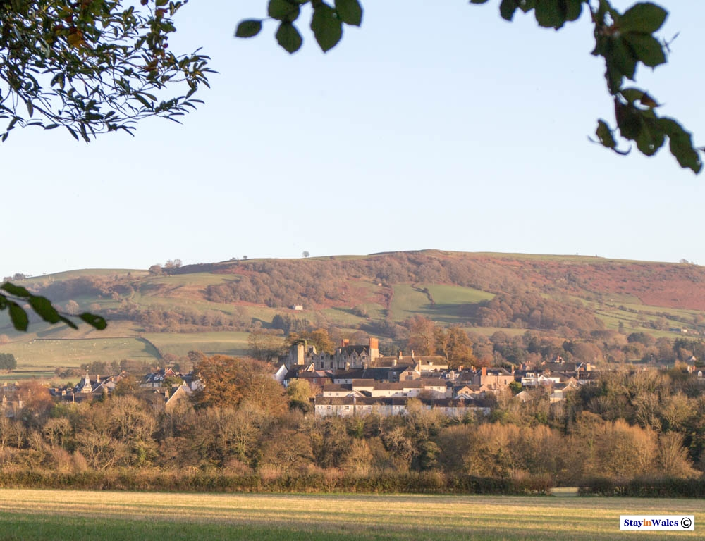 Evening View of Hay-on-Wye