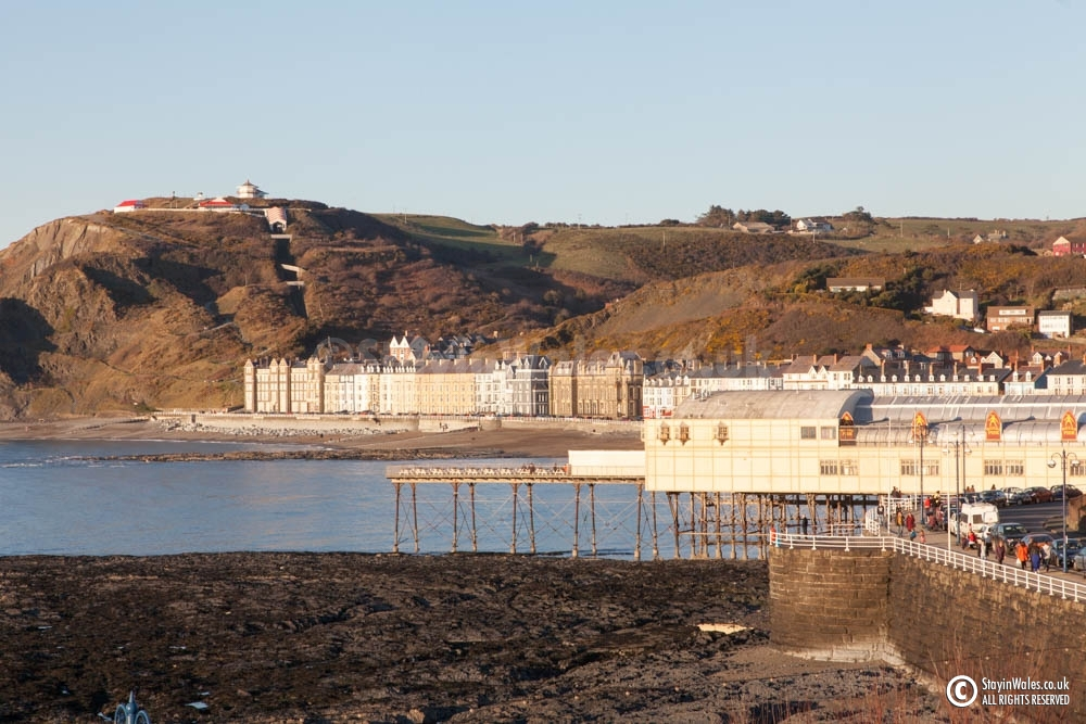 Aberystwyth Pier and Seafront