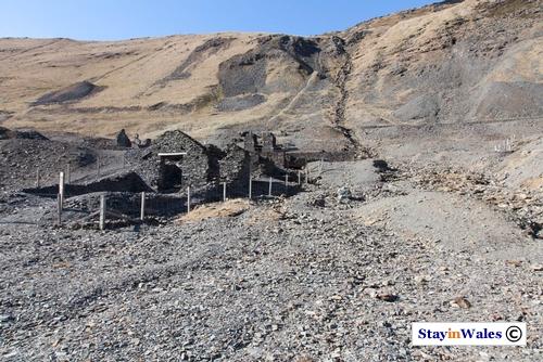 Cwmwystwyth Mine Ruin