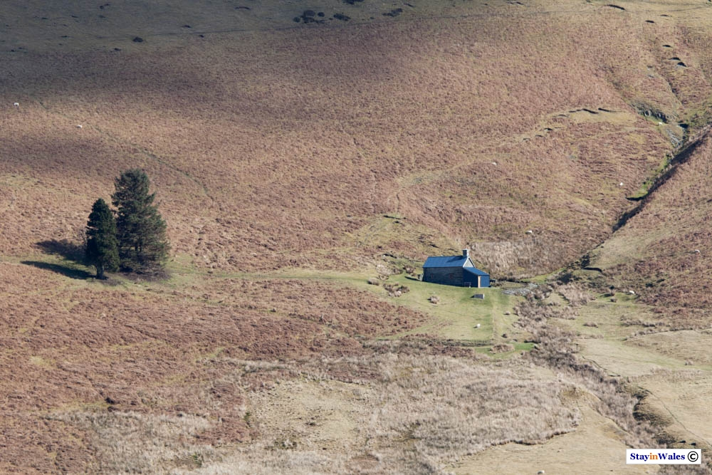 Lluest Cwm Bach Bothy, Elan Valley