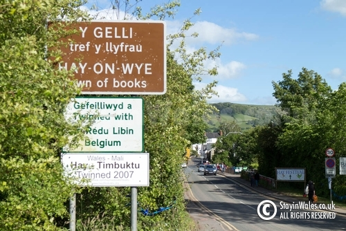 Welcome to Hay-on-Wye