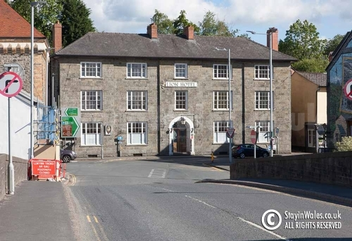 Lion Hotel in Builth Wells