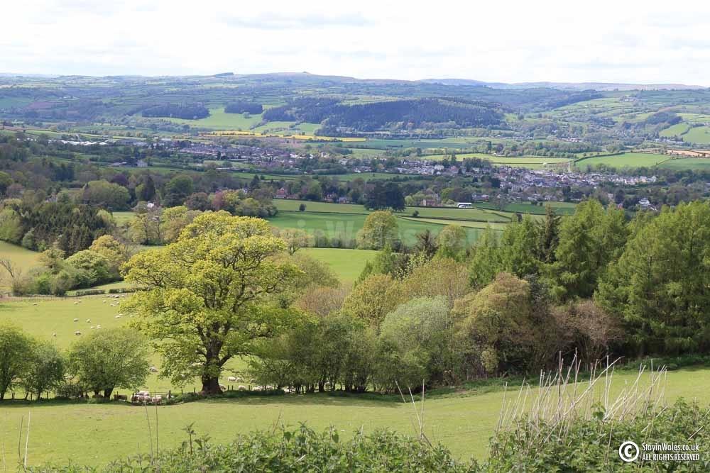 Hay-on-Wye from Cusop Hill