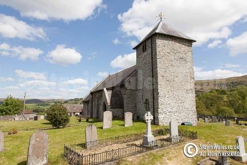 St Davids Church Llanddewi'r Cwm