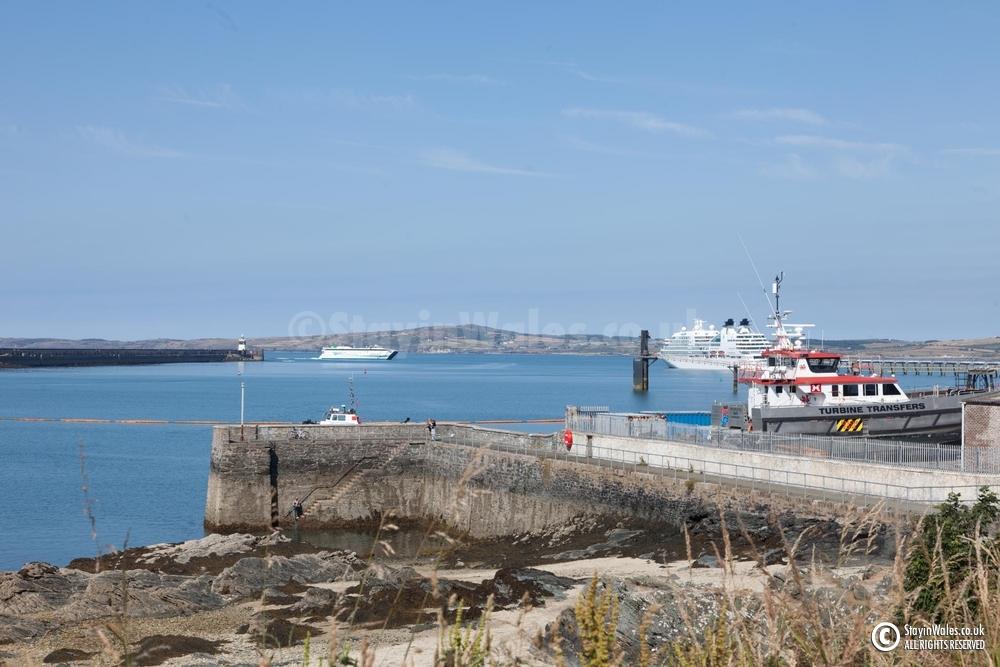 Holyhead harbour