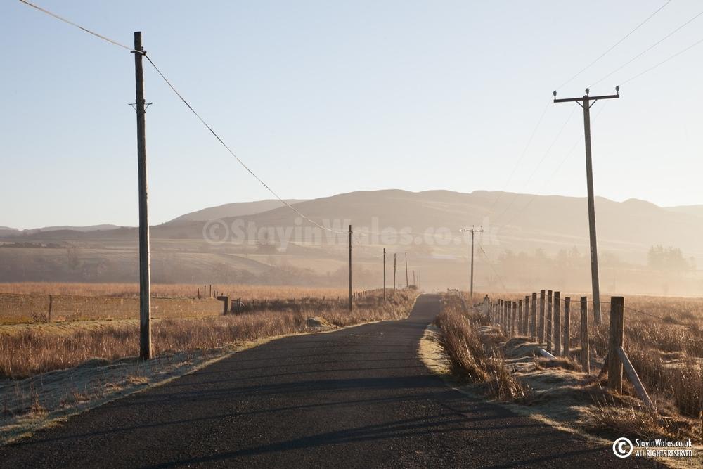 Trawsfynydd lane