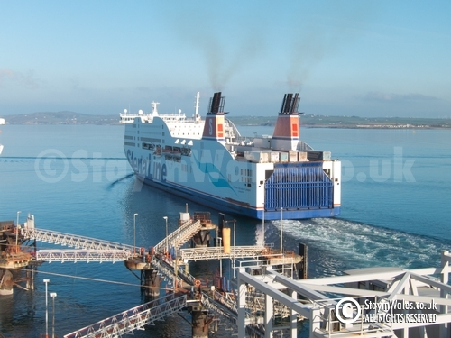 Stena ferry at Holyhead