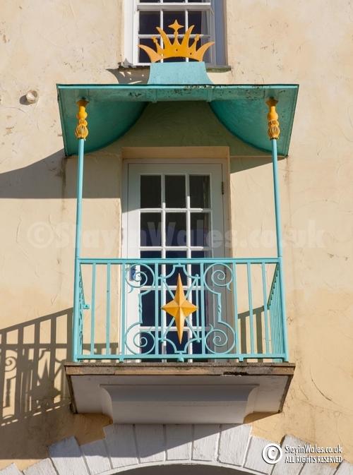 Portmeirion balcony