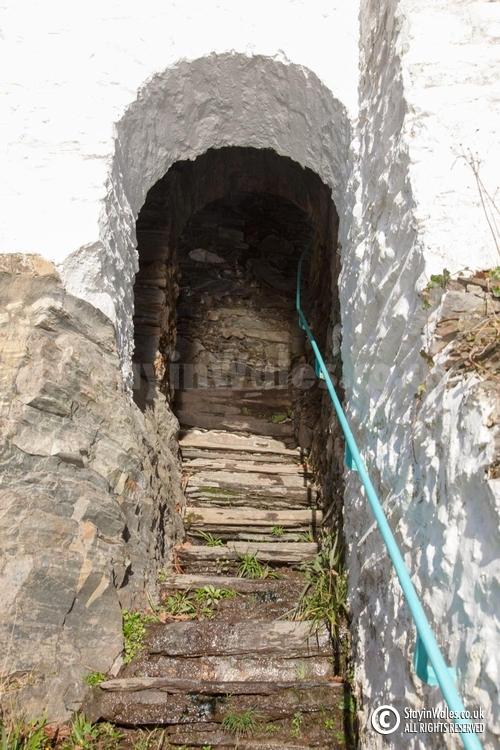 Portmeirion stone steps
