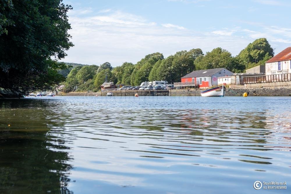 River Teifi, Cardigan