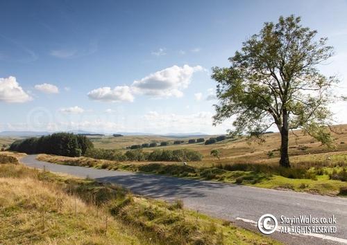 Mynydd Epynt view of Brecon Beacons