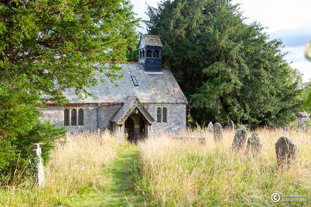 St Cynog's church at Battle