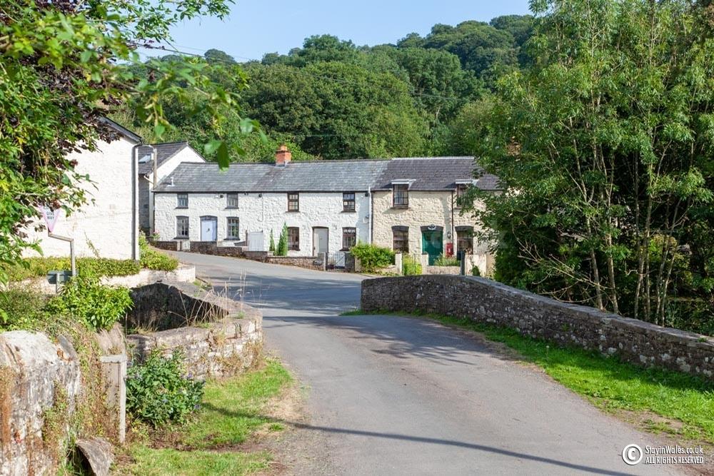 Pont-faen, a hamlet near Brecon