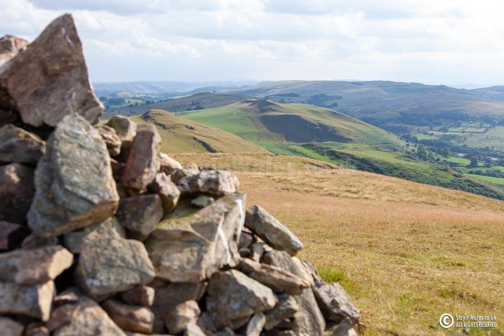 Cairn, Llandegley Rocks